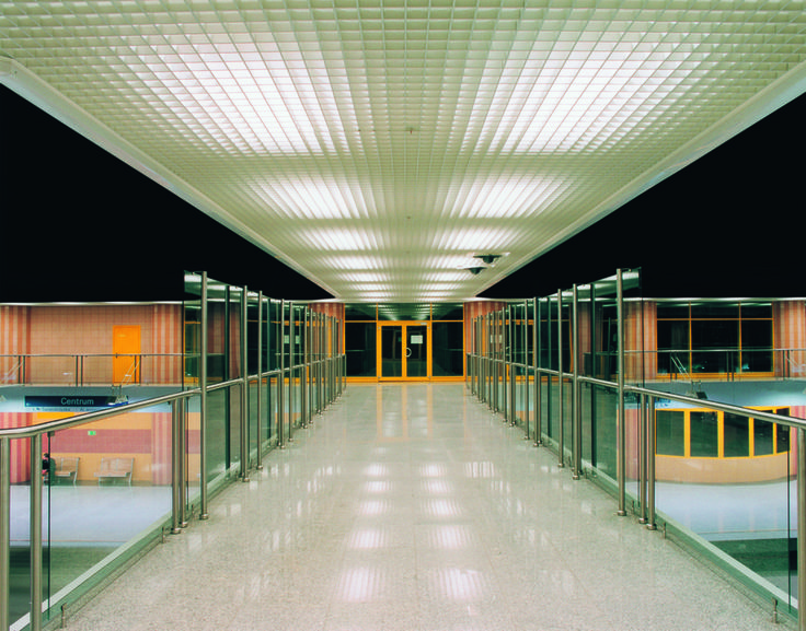 metal ceilings open cell system from hunter douglas
