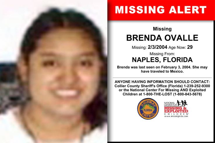 27 best missing images on pinterest missing persons kids poster missing from naples fl missing date feb 2004 am brenda was last seen on february she may have traveled to mexico fandeluxe Gallery