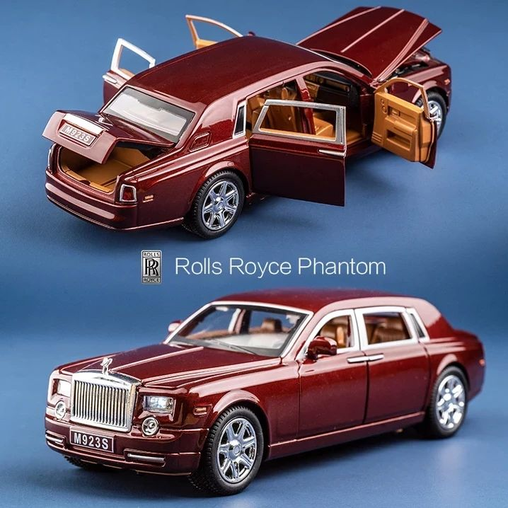 Shop Today>>60% OFF Rolls Royce Phantom Alloy Diecast Car Model #Heiße autos