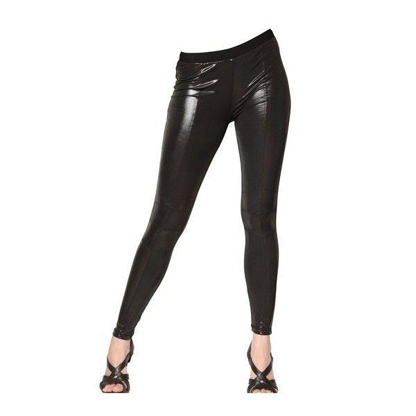 ball stretcher latex leggings