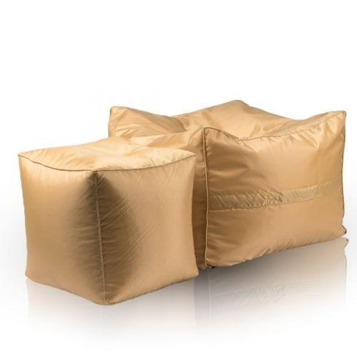 Details Zu Hocker Sitzhocker Dekohocker Sitzwürfel Würfel Sitzsack Sessel  Cubo Gold