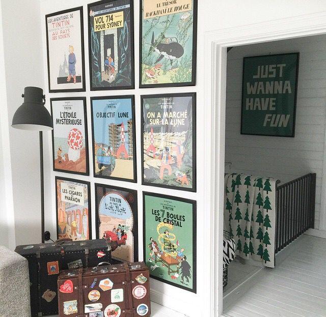 Tintin posters