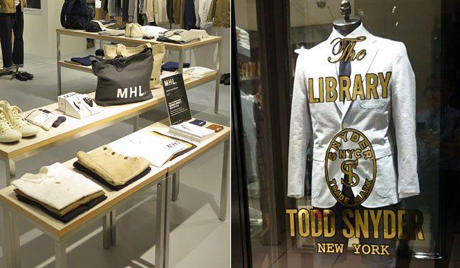 大阪の「E-ma」にMHL.とトッド スナイダー ライブラリーが誕生 ANGLOBAL