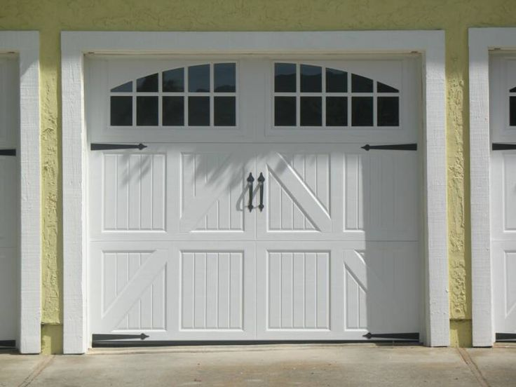 Intended to replicate the doors from old carriage houses, these doors deliver an old-fashioned charm that give every house an interesting style. Description from naskdoorinc.com. I searched for this on bing.com/images