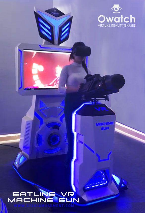 15d055caadba VR Machine Gun Gatling VR Shooting Simulator