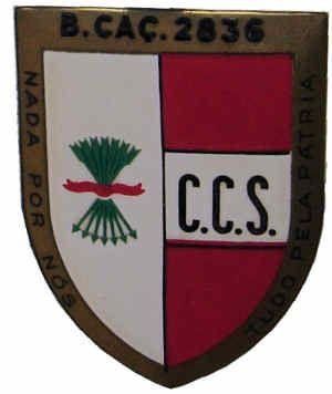 Companhia de Comando e Serviços do Batalhão de Caçadores 2836 Moçambique