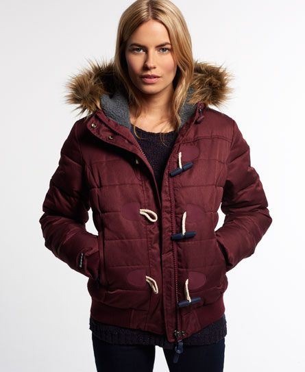 Superdry Doudoune Marl Toggle