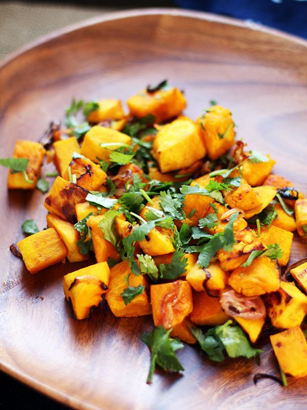 Thai-Style Roasted Kabocha Squash with Crispy Shallots from Eat Your Greens