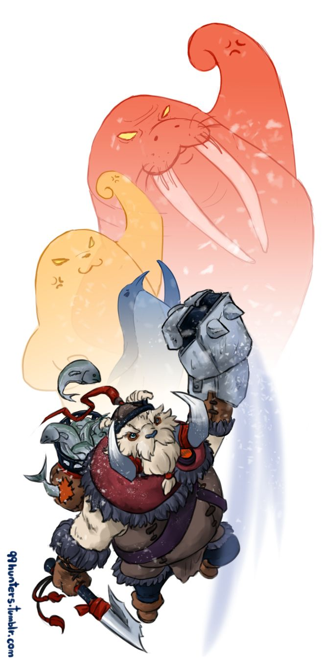 #Dota2 Walrus  PUNCH by spidercandy.deviantart.com on @deviantART
