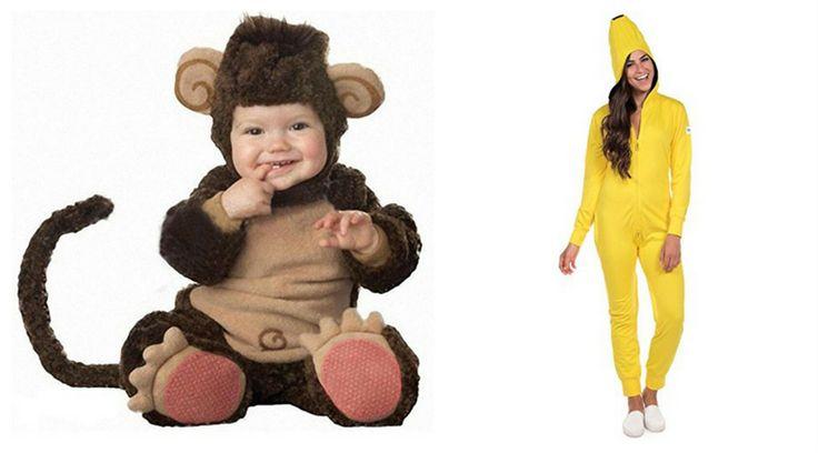 Monkey and Banana Costumes