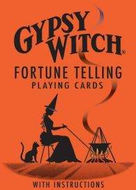 A nostalgic return to old time fortune-telling. This deck contains standard card symbols for normal playing card games as well as pictorial illustrations and individual meanings on each card. - Comes