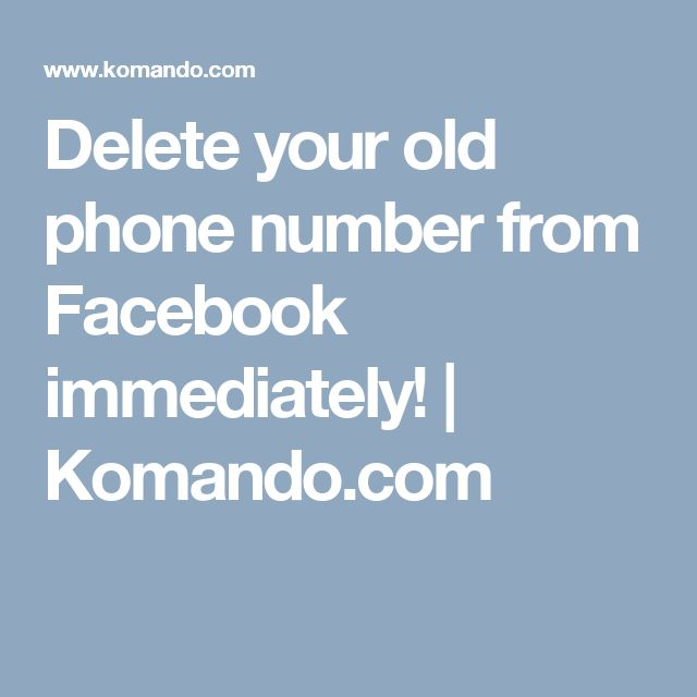 how to delete phone number frgom dsicord