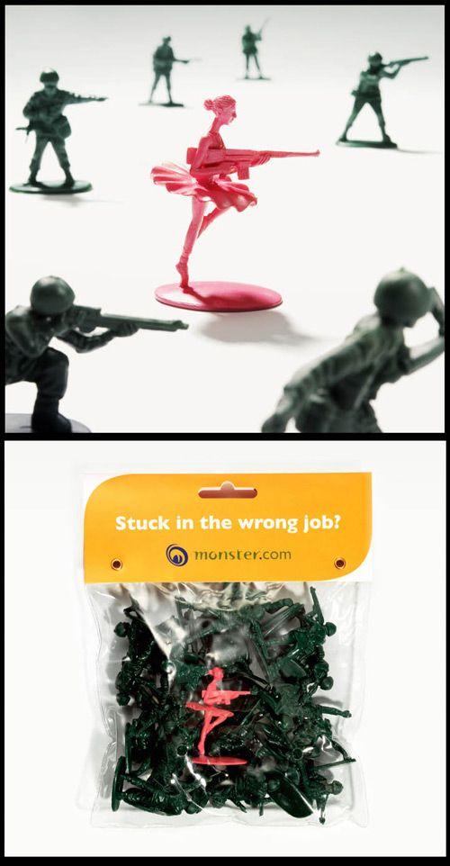 25 Brilliant 'Wrong Job' Ad Campaigns http://arcreactions.com/