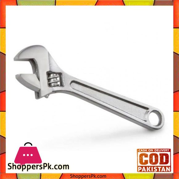 Buy Adjustable Wrench 6 Inch - Silver at Best Price in
