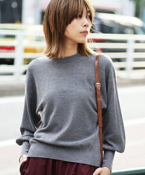 【ZOZOTOWN|送料無料】The Dayz tokyo(ザ デイズ トーキョー)のニット/セーター「Sleeve volume knit」(161642602101)を購入できます。
