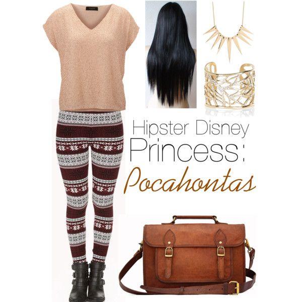 Hipster Disney princess: Pocahontas