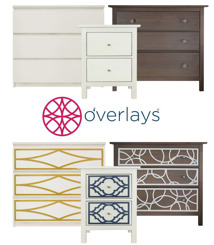 Winter is a great time to work on your home decor. For an easy and beautiful diy try O'verlays kits for Ikea dressers and create a stunning accent chest for your home.