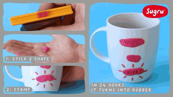 Make homemade gifts the easy way! | Sugru