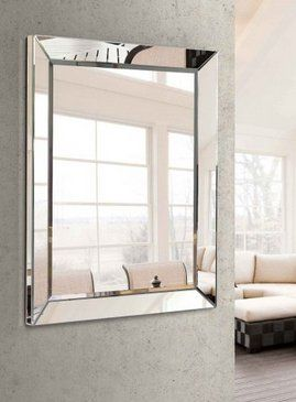espejos cuadrados marco espejo espejos decorativos sala comedor depto aluminio escaleras ventanas marcos