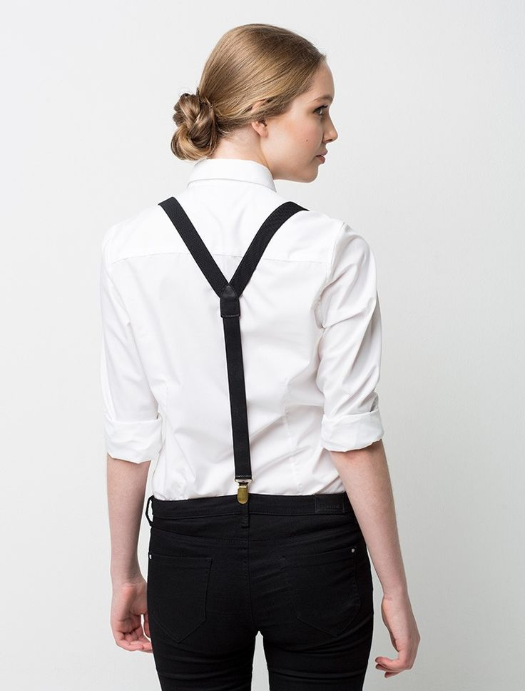 Classic Braces - Black | Cargo Crew - Staff Uniform Shop Australia