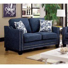 Blue Loveseats You'll Love | Wayfair