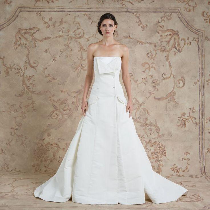 Tara #weddingdress from Sareh Nouri fall 2016 wedding dresses | itakeyou.co.uk: