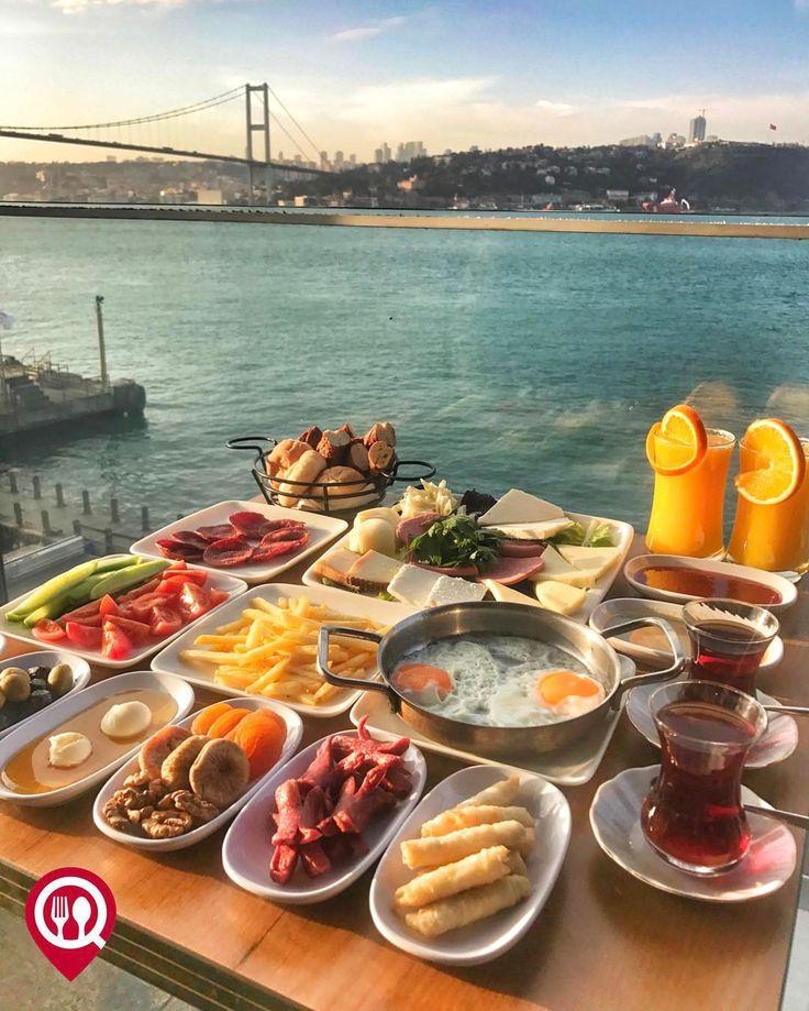 """13.7k Likes, 351 Comments - Yemek Nerede Yenir ® (@yemekneredeyenircom) on Instagram: """"Serpme Kahvaltı - Delfino Cafe / İstanbul ( Ataşehir, Beylerbeyi) @atasehirdelfino Çalışma…"""""""