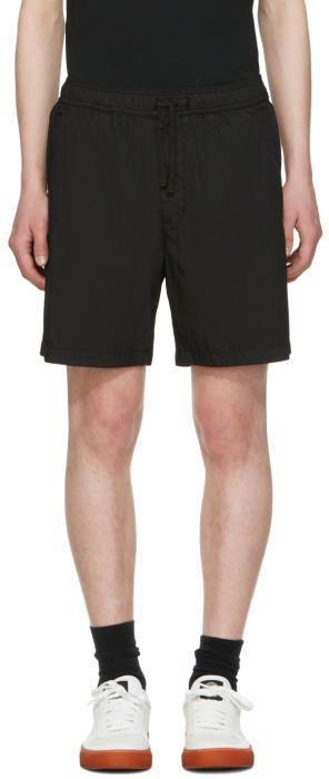 Stone Island Shadow Project Black Bermuda Shorts