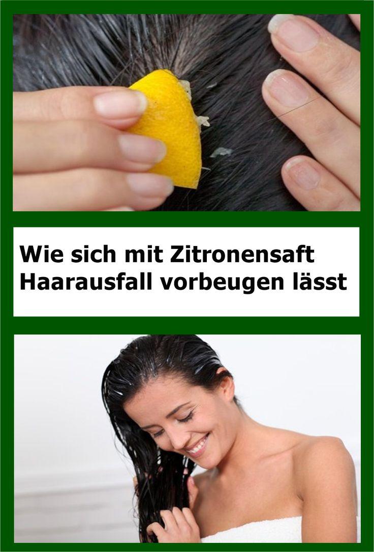 Wie sich mit Zitronensaft Haarausfall vorbeugen lässt | njuskam!