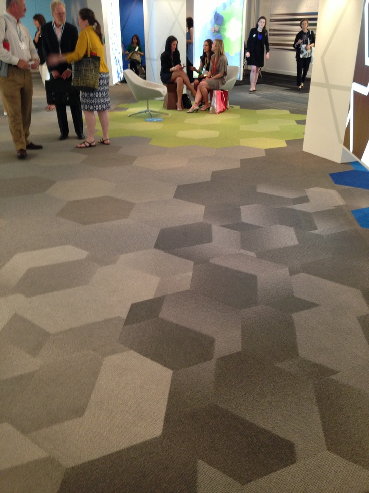 Shaw Hexagon Carpet Tile Product Bevel Deconstructs The