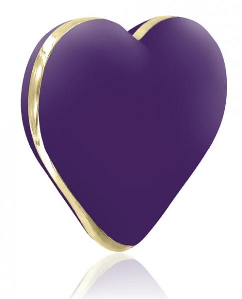 This adorable Heart vibe is the ultimate gift. The 10 speed vibrator, is rechargeable, has a powerful motor and is made from medical grade silicone. The Heart vibe comes in a playful and fashionable packaging and has a discreet design. It makes the perfect gift for lovers and an eye catcher in every bedroom. USB Rechargeable. Color Purple. Material Silicone. From Rianne-S.