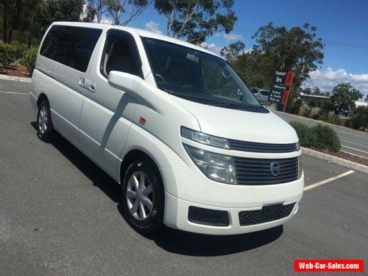 2002 Nissan Elgrand E51 White Automatic 5sp A Wagon #nissan #elgrand #forsale #australia