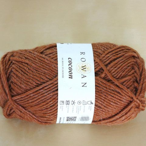 Cocoon amber 80% Merino Wool 20% Kid Mohair Needles          7mm Weight            100g Yarn Weight    12ply Length             115 m Tension           14st x16 rows