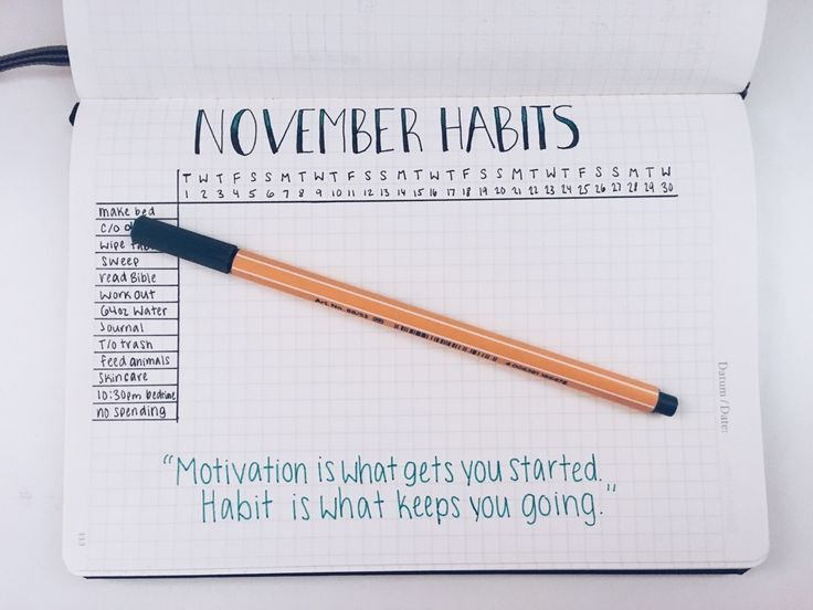 """southern-studies: """" October 30, 2016 // The past few weeks I've gotten tired of keeping up with my bullet journal. I have a simple planner from target that I kept a to-do list in. For November and December, though, I want to make these the best..."""