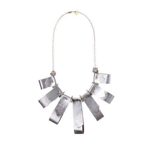 https://www.cityblis.com/6172/item/5726  Sparkling silverbell necklace - $102 by DORIDEA  Beautiful handmade leather jewelry with carefully selected high-quality gold-filled chains. This necklace belongs to the brand new DORIDEA 2013 SS collection, inspired by the pure beauty of the spring nature. Fits perfect to the daily and even for special event outfits.