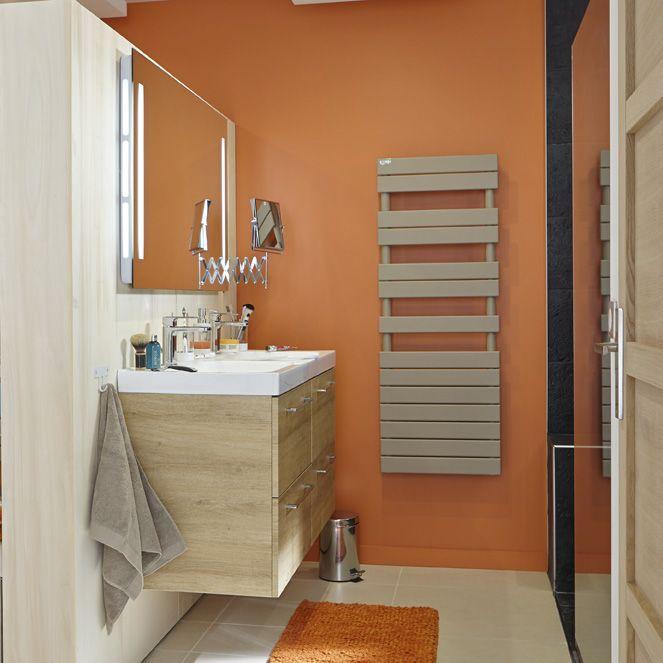 75 best Salles de bains images on Pinterest Bathrooms, Napkins and - Peindre Un Radiateur Electrique
