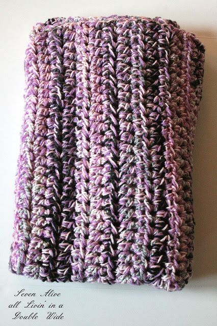 Free Crochet Patterns With Q Hook : Speedy Chunky Afghan Patterns, Crochet and Change 3