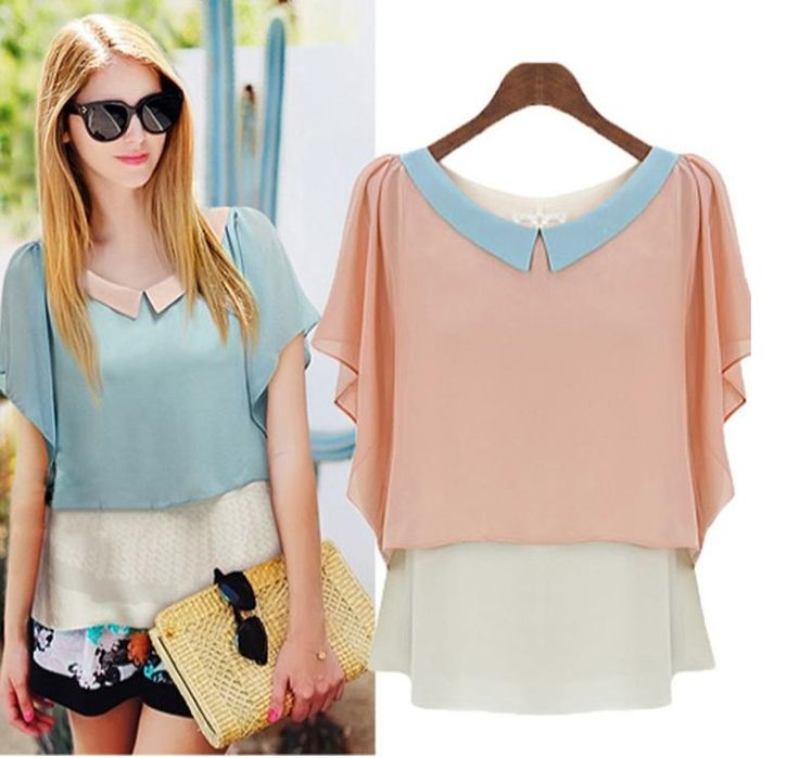 Pink blouse - 12 USD