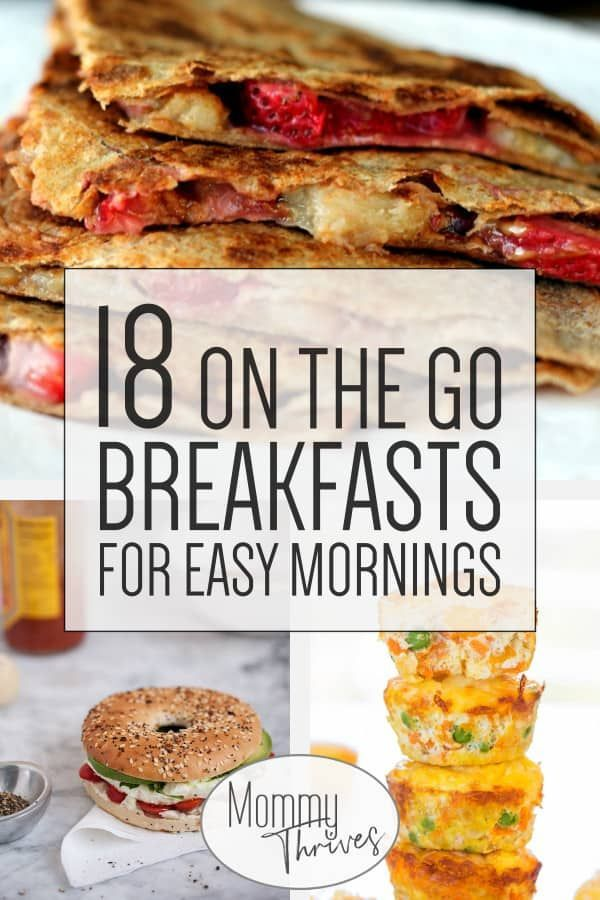Healthy Breakfast For On The Go Families Make Ahead Breakfast Reci Quick Healthy Breakfast Recipes Healthy Breakfast Recipes Easy Healthy Breakfast On The Go