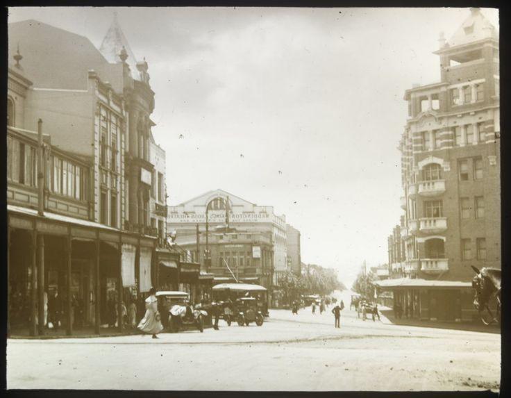 Kings Cross in eastern Sydney in 1918.A♥W