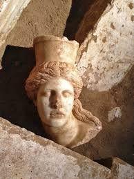 Sphinx head. Amphipolis