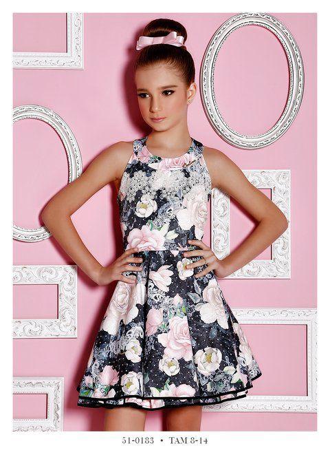 Vestido Infantil Miss Cake Doce Princesa 510183