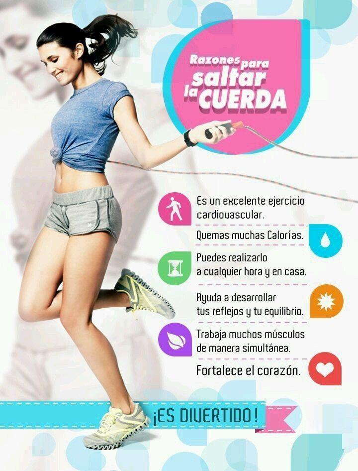 ejercicio para bajar de peso y mucho mas saltando la cuerda o comba parte 2