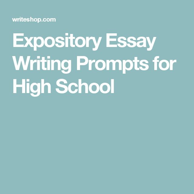 simple expository essay prompts Writing about the expository essay thesis the most important part of the composition is the expository essay thesis it contains the main ideas which the whole essay.