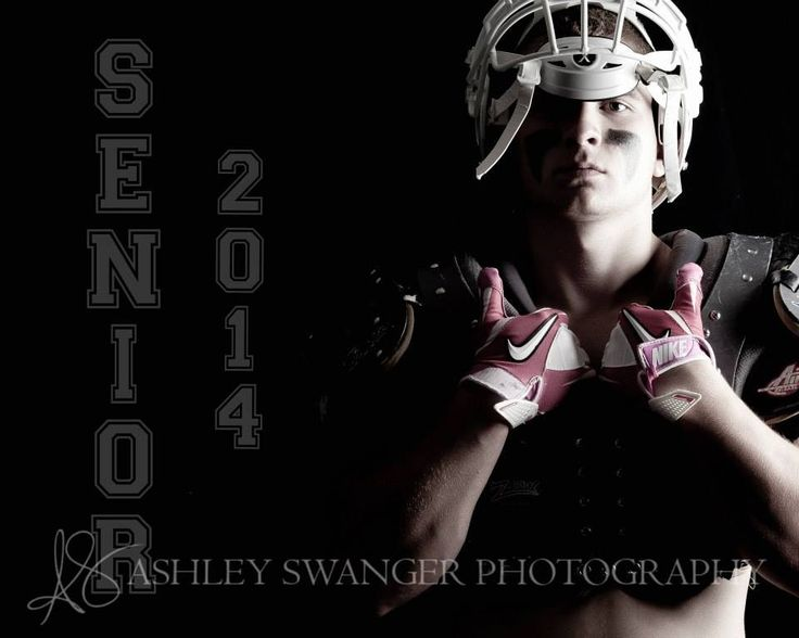 Cool football picture. Senior