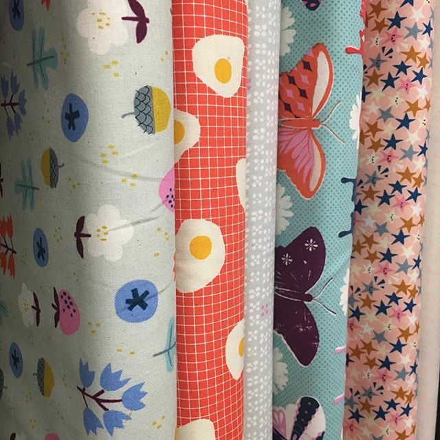 New cuties from Cotton & Steel just arrived sunny side up! #luccellomelbourne #cottonandsteel #modernquilt #newprojects #beautifulcolours