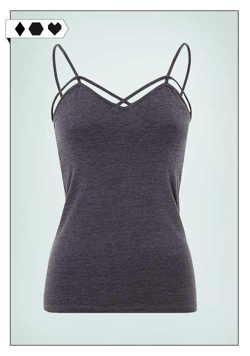 Mandala Fashion Slim Tank: Fair Fashion Top mit verstellbaren Trägern und integriertem Support-Bra: Perfekt zum Sporteln. Mehr Slow Fashion auf sloris.de!