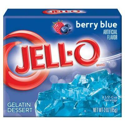 JELLO BERRY BLUE