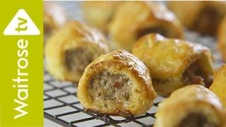 how to make sausage rolls - YouTube