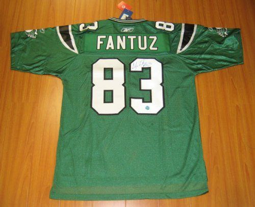 ANDY FANTUZ Saskatchewan Roughriders SIGNED CFL Football Jersey . $493.05. This is an official licensed SIGNED Andy Fantuz Saskatchewan Roughriders jersey. The jersey is brand new with all of the lettering and numbering professionally sewn on. The player has beautifully signed the number. To protect your investment, a Certificate Of Authenticity and tamper evident hologram from A.J. Sports World is included with your purchase.